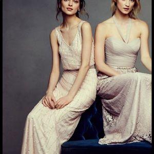 BHLDN Brooklyn dress ivory size 4